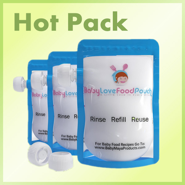 BPA free baby food pouch