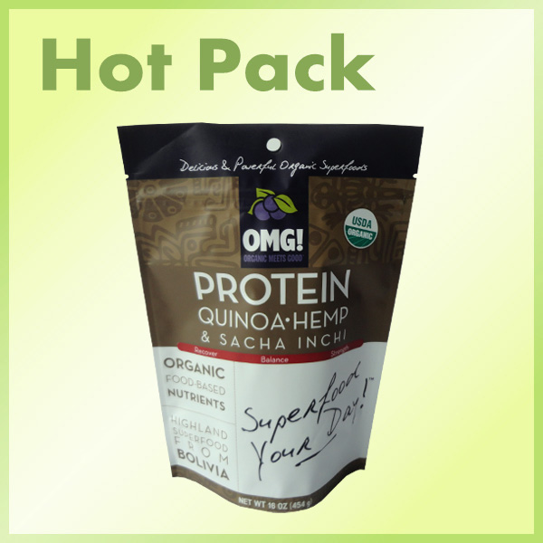 whey protein packaging bag