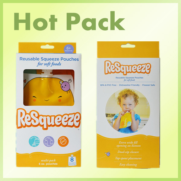 Baby Food Squeeze Pouch
