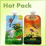 Baby food squeeze pouches for fruit puree packaging